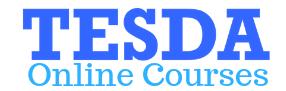 Tesda Online Courses