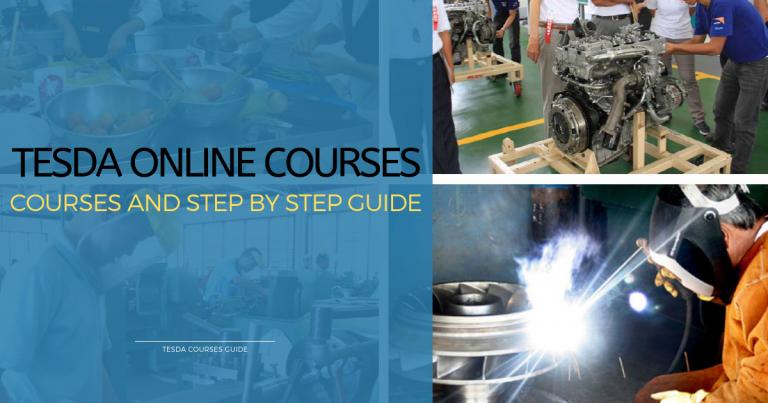 2019 Free TESDA Courses