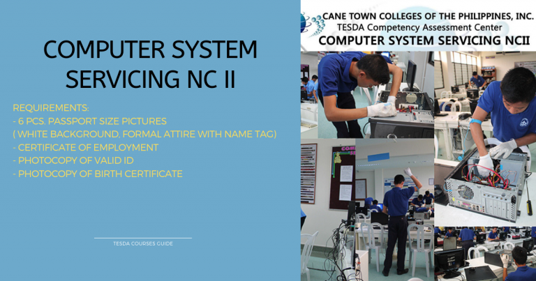 Computer System Servicing NC II (1)