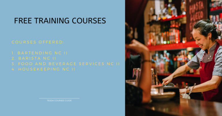 TOURISM FREE TRAINING COURSES