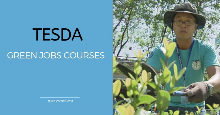 TESDA offers Green Jobs Courses